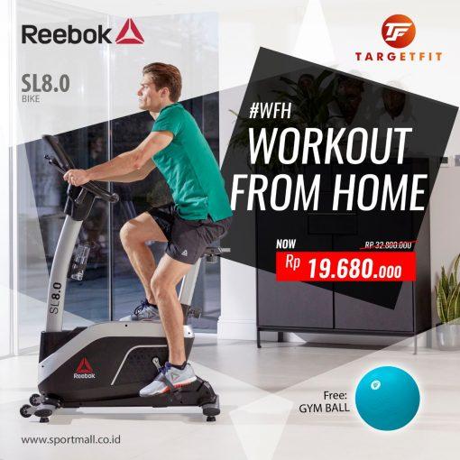 Workout From Home Reebok Bike SL 8.0