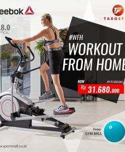 workout from home reebok elliptical sl 8.0