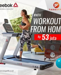 workout from home reebok treadmill sl 8.0 dc
