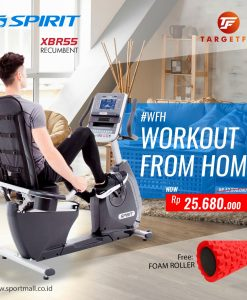 workout from home spirit recumbent bike xbr55